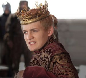 Picture of King Joffrey from Game of Thrones